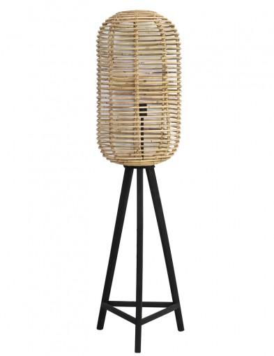 lampara de pie de bambu-1952BE