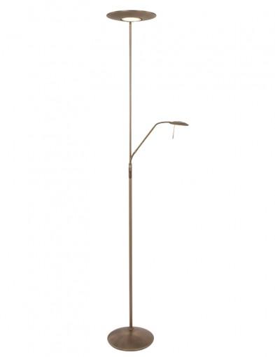 lampara de pie de bronce clasica-7972BR