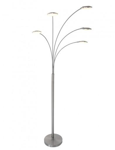 lampara de pie de cinco luces-1327ST