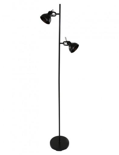 lampara-de-pie-de-dos-luces-negro-1511ZW-4