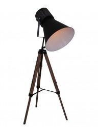 lampara de pie de madera-1458ZW