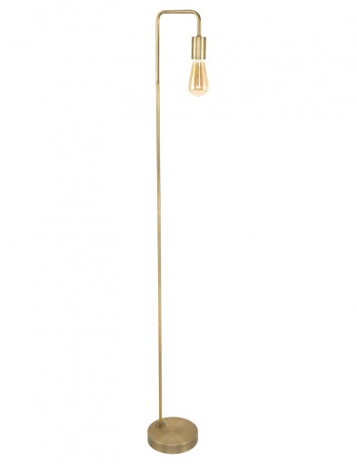 lampara de pie dorada-1405BR