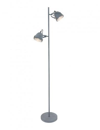 lampara de pie dos luces-1576GR