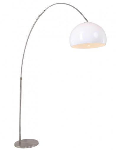 lampara de pie en arco blanco-9678ST
