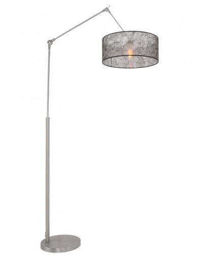 lampara de pie en negro-9896ST