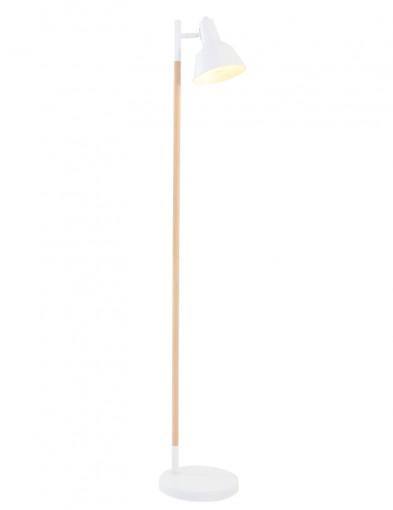 lampara de pie escandinava blanca-1415W