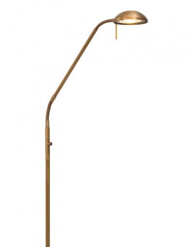 lampara de pie estilo bronce-7501BR