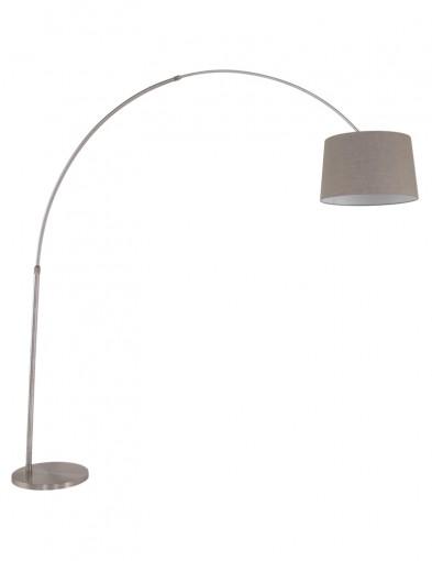 lampara de pie gris-9676ST