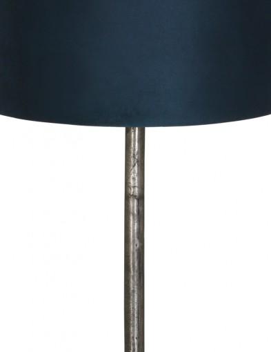 lampara-de-pie-metalica-y-pantalla-azul-9300ZW-1