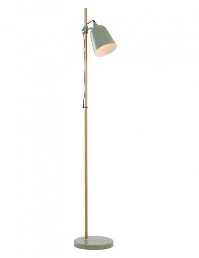 lampara de pie minimalista verde-7850G