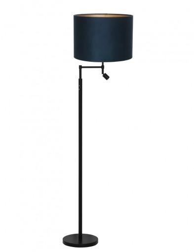 lampara de pie moderna azul-9161ZW