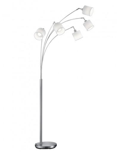 lampara de pie moderna con cinco luces-1807W