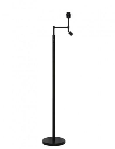 lampara de pie negra-1904ZW
