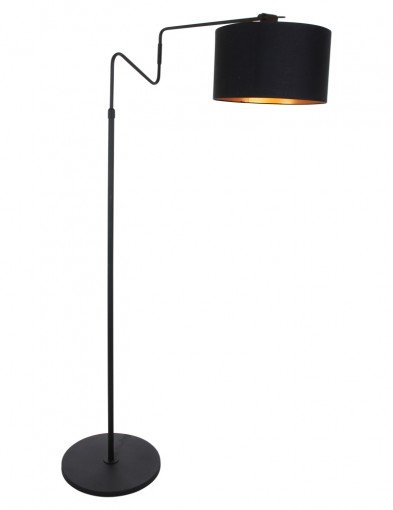 lampara de pie negra-2132ZW