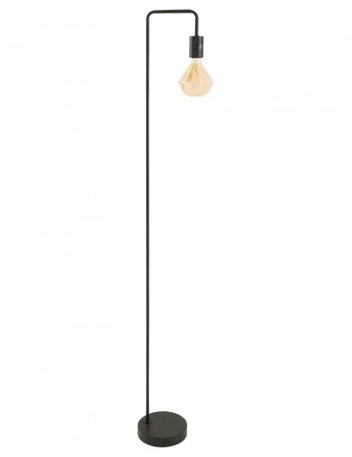 lampara de pie negra cody-1405ZW