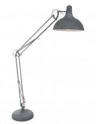 lampara de pie oficina cemento-7633GR
