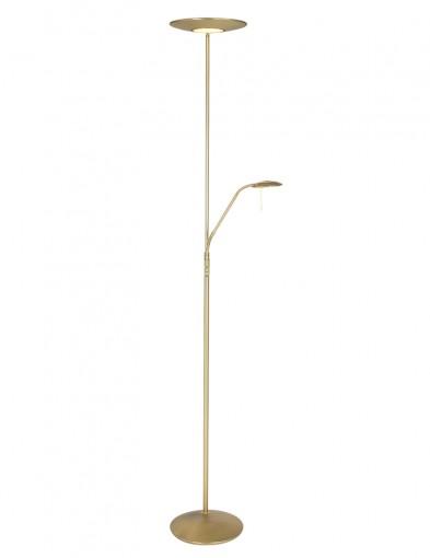 lampara de pie para lectura ajustable laton-7972ME