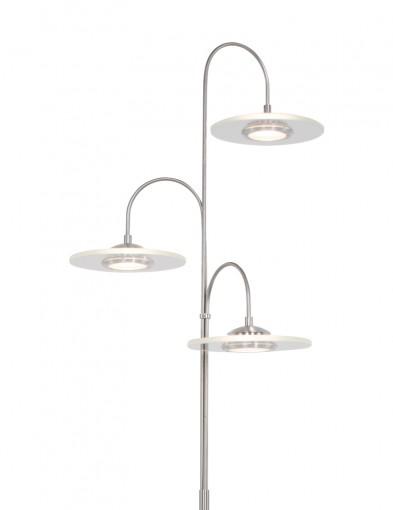 lampara de pie tres luces roundy-7709ST