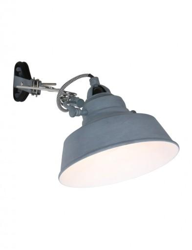lampara de pinza estilo industrial-1320GR