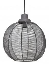 lampara de rejilla color gris-1761GR