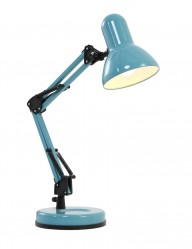 lampara de sobremesa azul-7859BL