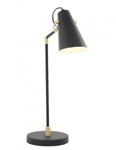 lampara de sobremesa negro-1406ZW