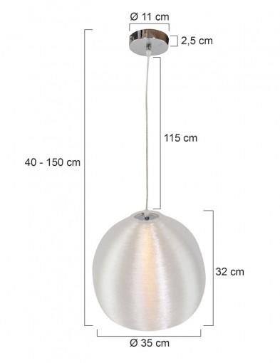 lampara-de-suspension-en-plata-1072GR-7