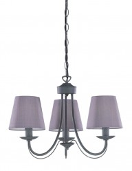 lampara de suspension tres luces-1615GR