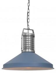 lampara de techo azul-8755BL