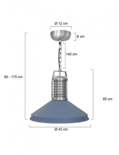 lampara-de-techo-azul-8755BL-4