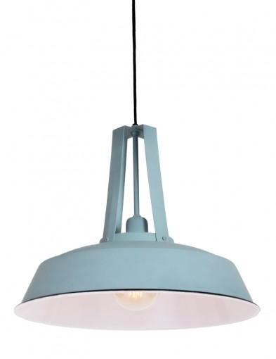 lampara de techo azul claro-8802BL