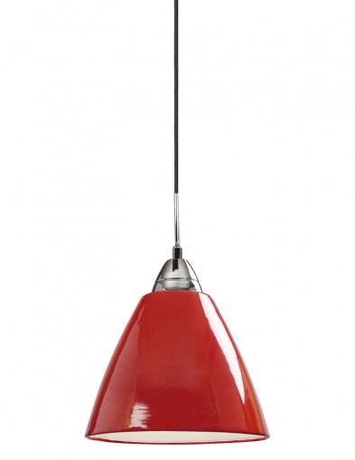 lampara de techo clasica roja-2363RO