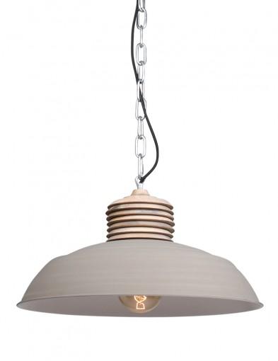 lampara de techo color crema-7974CR