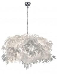 lampara de techo con hojas-1827CH