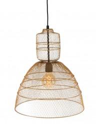 lampara-de-techo-con-malla-dorada-1568GO-1