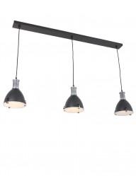 lampara de techo con tres luces-1332ZW