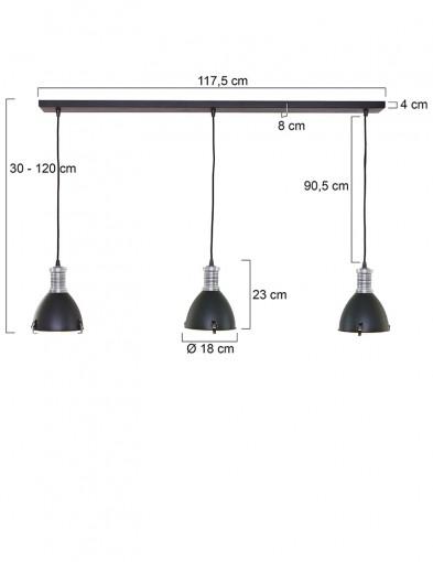 lampara-de-techo-con-tres-luces-1332ZW-5