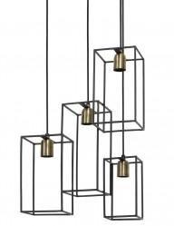 lampara de techo cuatro luces-1968ZW