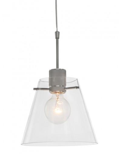 lampara de techo de acero y vidrio-1896ST