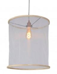 lampara de techo de algodon-7993W