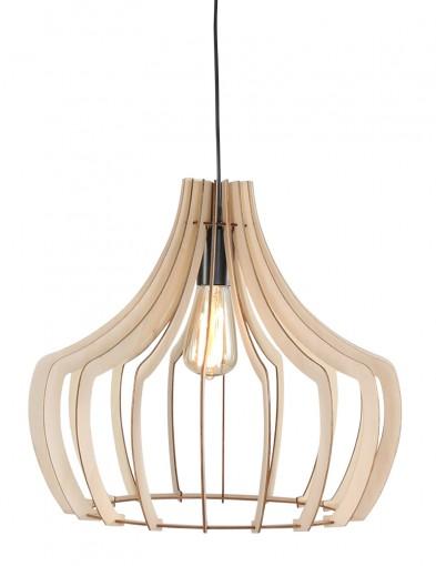 lampara de techo de madera-1626BE