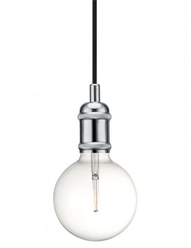 lampara de techo de plata-2147CH