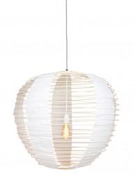 lampara de techo de tela y bambu-2135BE