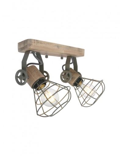 lampara-de-techo-doble-foco-1579G-1