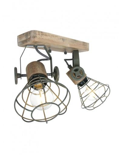 lampara de techo doble foco-1579G