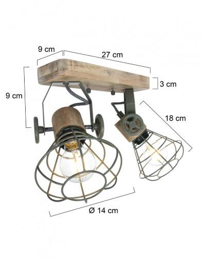 lampara-de-techo-doble-foco-1579G-5