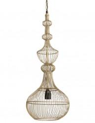 lampara de techo dorada-2043GO