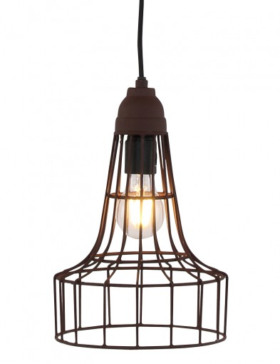 lampara de techo efecto oxido-8795B