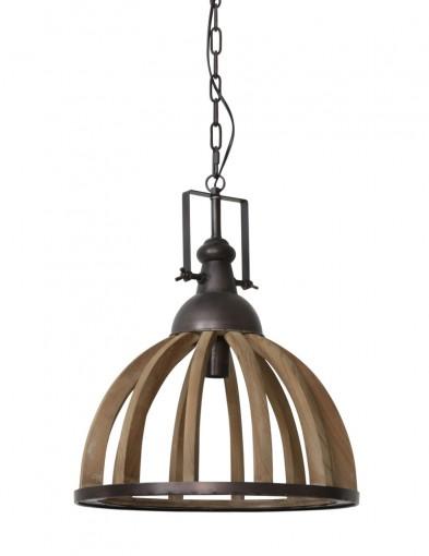 lampara de techo en madera estilo rural-1675B