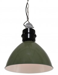 lampara de techo en verde frisk-7696G
